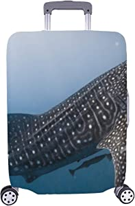 Philippine Whale Shark Spandex Trolley Case Travel Luggage Protector Suitcase Cover 28.5 X 20.5 Inch(only Dust Cover)