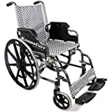 KosmoCare Foldable Wheelchair (Deluxe)