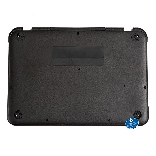 Notebook Cover Base (Rinbers Black Lower Bottom Case Cover Laptop Base Enclosure for Lenovo Chromebook 11 N22 Replacement Repair Part)