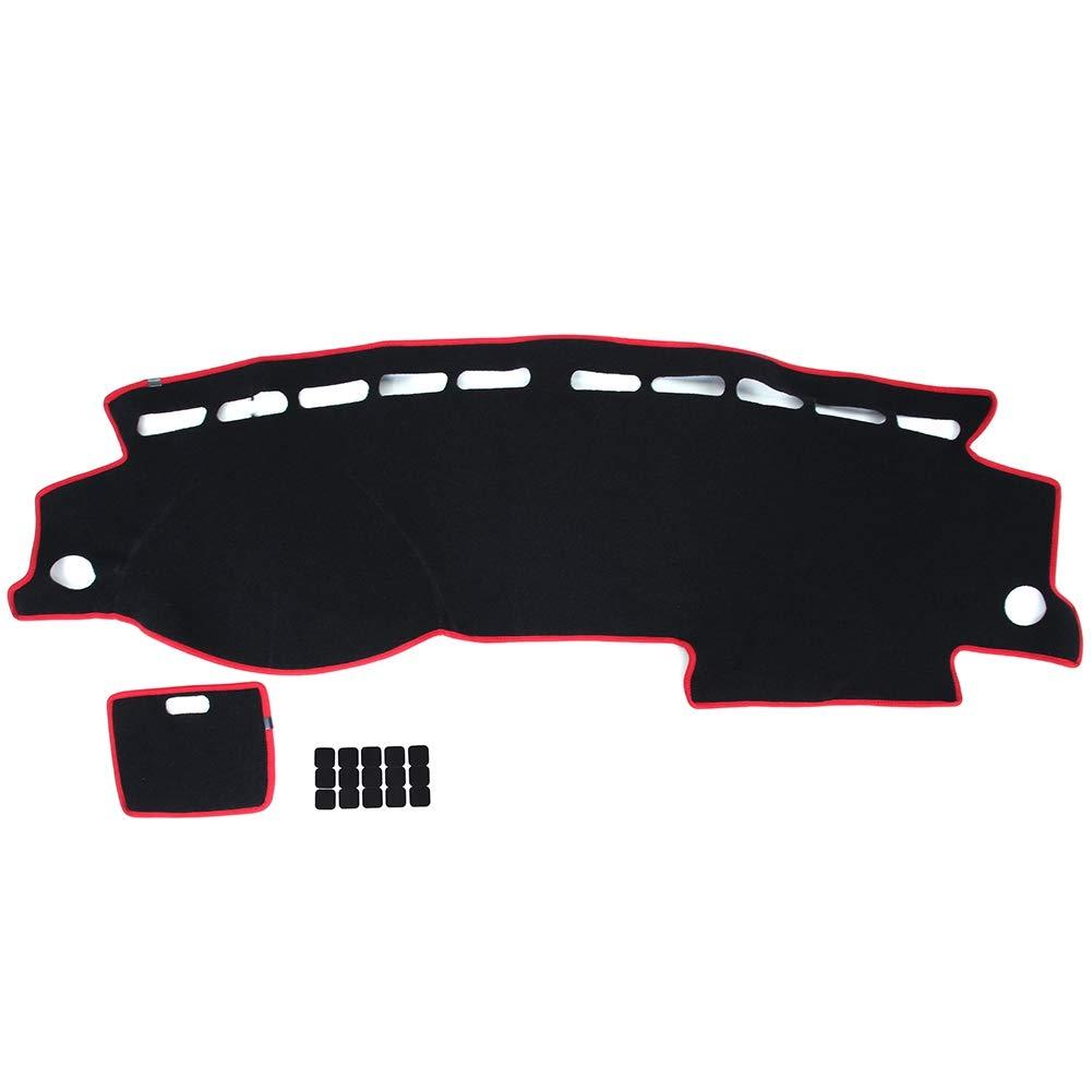 Car Dashboard Platform Mat Compatible for Passat