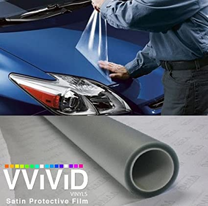 Paint Protection Film >> Amazon Com Vvivid Paint Protection Film Clear Vinyl Gloss Self