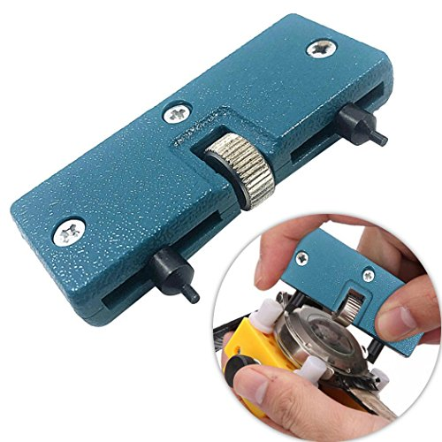 Qenci Watch Repair Tools Watches Opener Watch Back Case Opener Adjustable Screw-on Watch Back Remove