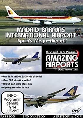 AirUtopia:Madrid New Barajas Mega-Airport Video DVD-(airlines, Aircraft,Airplanes,Planes)
