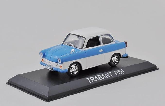 Trabant Metallauto Sammelauto ca 7 x 3cm Blau oder Beige