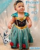 Baby Girl Toddler Anna Coronation Dress Frozen Inspired Costume Halloween 9m-4T