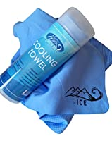 Ice Cooling Towel -Sports Instant Snap Golf Gym Yoga Towel For Your Neck- For All Sports and Outdoor Activities- Highly Effective Cooling- Comes With An Unconditional Guarantee To Stay Cool Outdoors