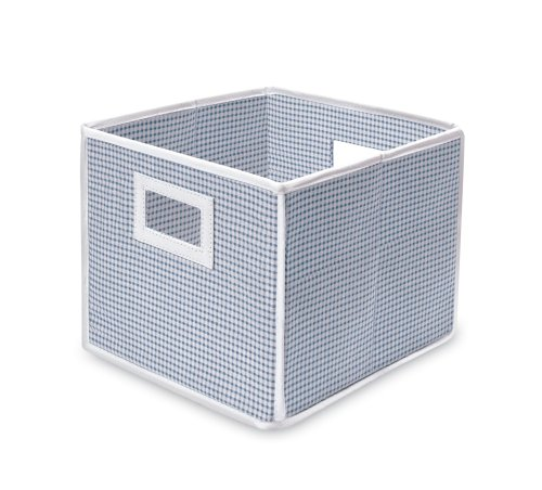 Badger Basket Folding Basket and Storage Cube, Blue from Badger Basket