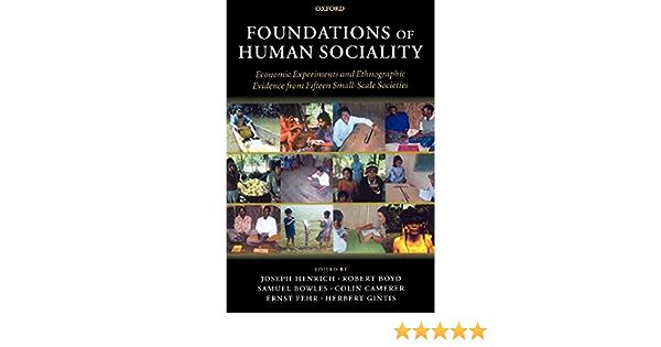Foundations of human sociality a review essay homework help forum