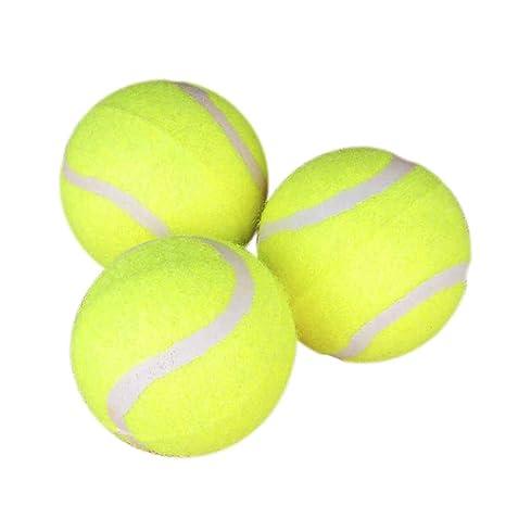 POPETPOP Popetop - Pelota de Tenis Gigante, 3 Unidades, para ...