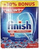 Finish All in One Power Ball Fresh Scent Dishwasher 130 tabs, 2.6kg