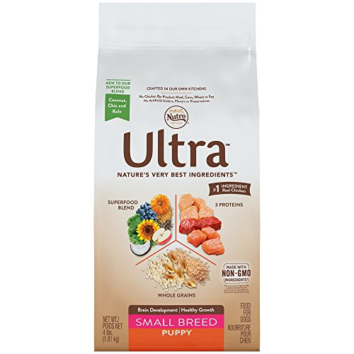 Nutro ULTRA Small Breed Puppy Dry Dog Food 4 Pounds (Breed Puppy Food Small)