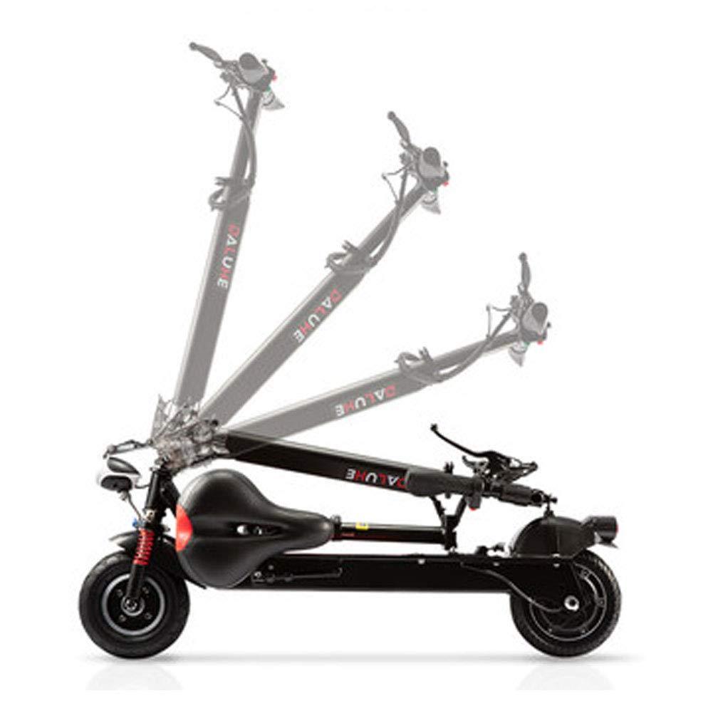LETFF Mini Bicicleta Eléctrica Plegable 8 Pulgadas, 36V Doble Amortiguador Adulto Masculino Y Femenino Plegable Scooter Eléctrico,White: Amazon.es: Deportes ...