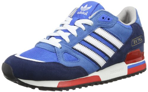 Baskets Bluebird White mode Originals Slate Dark adidas Zx750 homme Bleu xwBSq