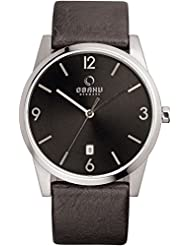 OBAKU V169GDCBRB Mens Wrist Watches, Classic Analog Watch with 3 Hands Date