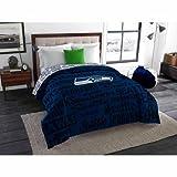 seahawks full bedding - NFL Anthem Twin/Full Bedding Comforter Only, Seattle Seahawks