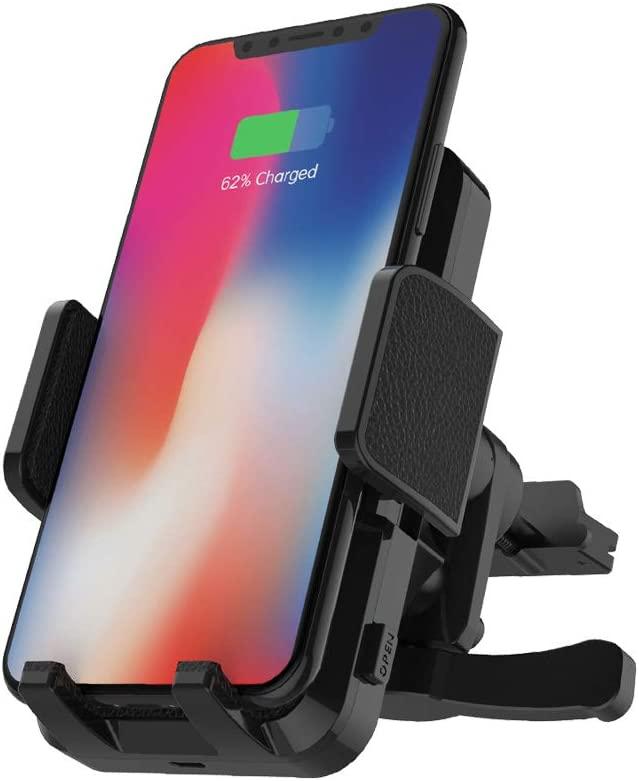 FutureCharger Wireless Car Charger Mount 10W Fast Charging Auto Clamping Car Mount,Windshield Dash Air Vent Phone Holder for iPhone11 Pro//11 Pro Max//Xs//X//8+,for Samsung S10////S9////S8//S8+