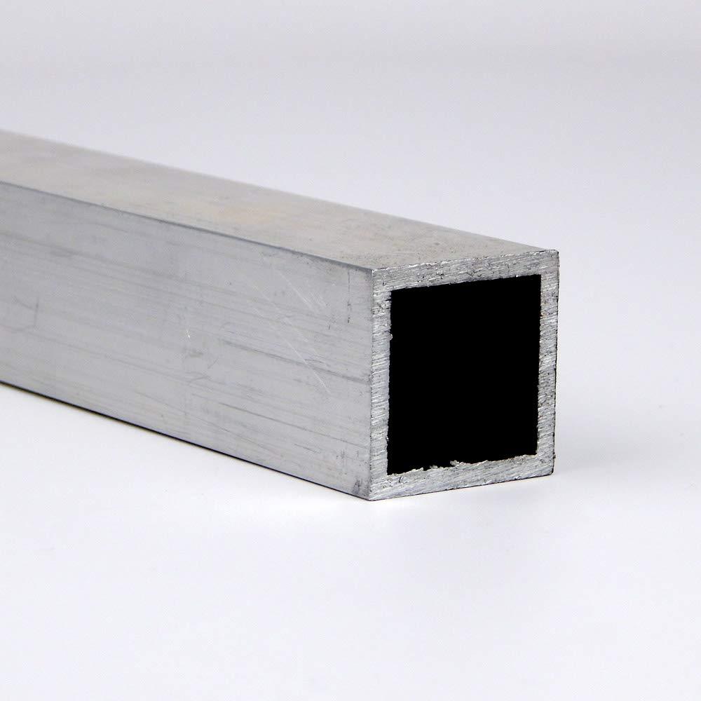 1 x 0.125 Aluminum Square Tube 6063-T52-Extruded 36.0