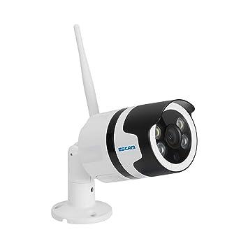 IP WiFi HD Cámaras de Vigilancia Seguridad Alarma de Detección de Movimiento y Visión Nocturna Infrarroja de Alta Definición con Tarjeta Micro SD Opcional: ...