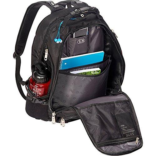 Large Product Image of SwissGear 1900 Scansmart TSA Laptop Backpack - Black