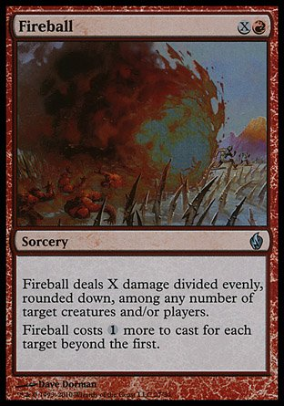 Magic the Gathering: Fireball (Foil) - Premium Deck Series: Fire and Lightning