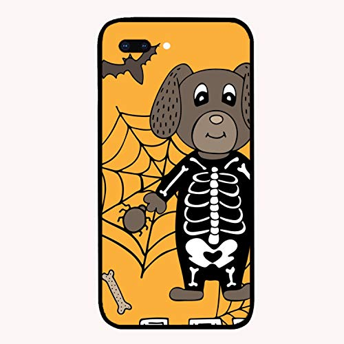 Halloween Dog Printed iPhone 7/8 Plus Cover Anti-Fingerprint Hard PC Compatible for iPhone 7/8 Plus Case 5.5