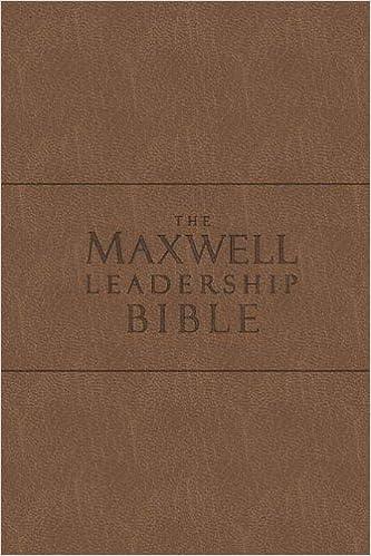 The Maxwell Leadership Bible New King James Version Coffee