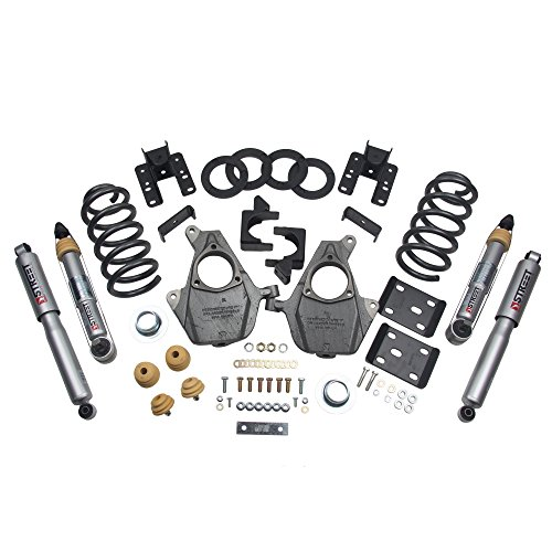 Belltech 1012SP Lowering Kit, 16.5-17 SIL/Sierra STD CAB 2WD 3-4F/5-6R - Hotchkis Lowering Kits