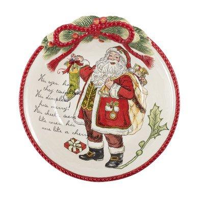 Night Before Christmas Centerpiece - Glass Fitz Art & Floyd