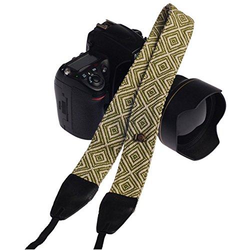Turpro Genuine Leather Soft Pure Cotton Camera Shoulder Neck Strap Belt for (Cotton Genuine Belt)