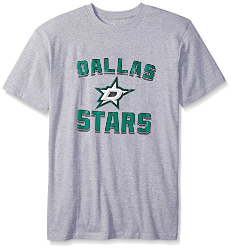- NHL Dallas Stars Men's Short Sleeve Screen Print Tee, 3X-Large Tall, Heather Grey