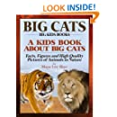 Big Cats! A Kids Book About African Cats - Facts, Figures and High Quality Pictures of Animals in Nature (Big Kids Books)