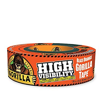 Gorilla Tape, High Visibility Duct Tape from Gorilla