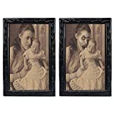 Halloween Lenticular 3D Changing Face Horror Portrait,KOBWA Haunted Spooky Halloween Decorative Painting Frame Props