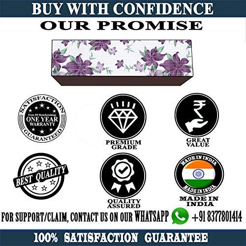 JM Homefurnishings Waterproof and dustproof Split AC Cover for Voltas 1.5 Ton 5 Star Inverter (185v JZJ R32) (Coffee Colour) 51OUHbPO4gL India 2021