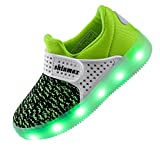 Shinmax Led Kid Shoes, Led Sneakers Sport Shoes Spring-summer-autumn Breathable 7 Colors Led Shoes Usb Rechargable Kid Shoes Led Sneakers   amazon.com