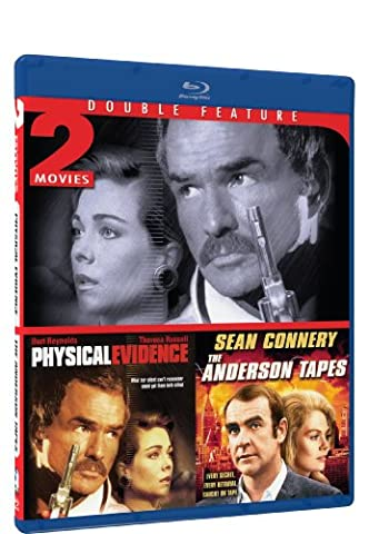Physical Evidence & The Anderson Tapes - BD Double Feature [Blu-ray] (The Anderson Tapes Dvd)