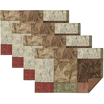Mainstays Tuscany Kitchen Collection - Fabric Placemats (Set of 4)
