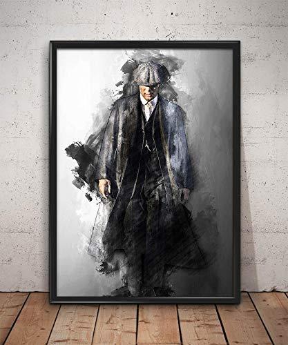 Cartel de Thomas Shelby, impresión de la pared de Peaky Blinder, arte de la pared de Peaky Blinder, decoración de la pared de Peaky Blinder, regalos de Peaky Blinder, impresión de Peaky Blinder