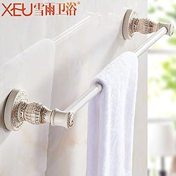 Accesorios de Baño MoomQe fácilmente para montar una buena decoración efecto palanca única estantería de baño toallas pañuelos: Amazon.es: Hogar