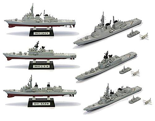 現用艦船キットコレクションVol.1 海上自衛隊 護衛艦 全6種セット(フルコンプ) 食玩