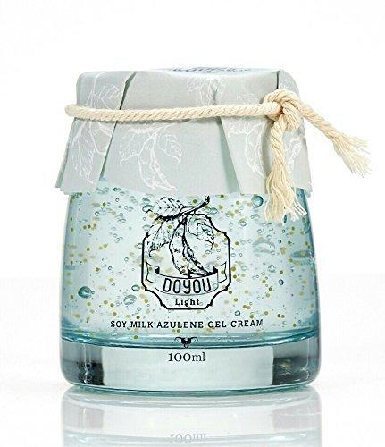 [Primary Raw] Soy Milk Azulene Gel Cream 100g 3.4 fl oz - Best Facial Moisturizing Cream in Korea Night Day Whitening Anti Aging Wrinkle BB CC Doyou Natural