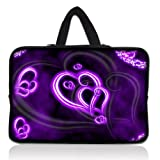 "Purple Heart 11.6"" 12.1 12 Inch Laptop Sleeve Bag Carrying Case Cover +Hide Handle For Acer Chromebook Google Chrome OS 11.6"",Alienware M11x 11.6"",Macbook Air/Acer,HP Dell Acer Thinkpad,Acer Aspire S7/Acer C7 Chromebook,Lenovo Ideapad,Sony IBM ASUS?Dell Inspiron 11z 1110,12.1"" Apple iBOOK PC,DELL Latitude E6230 XT2 XPS Duo,Samsung Google 11.6"" Chromebook"