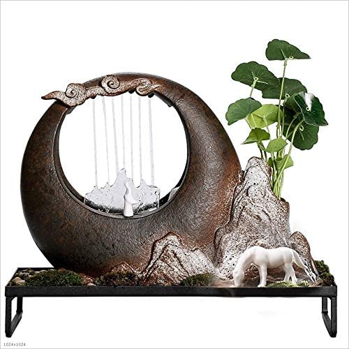 Fuente de Interior Fuentes de interior Fuente de mesa de cerámica ...