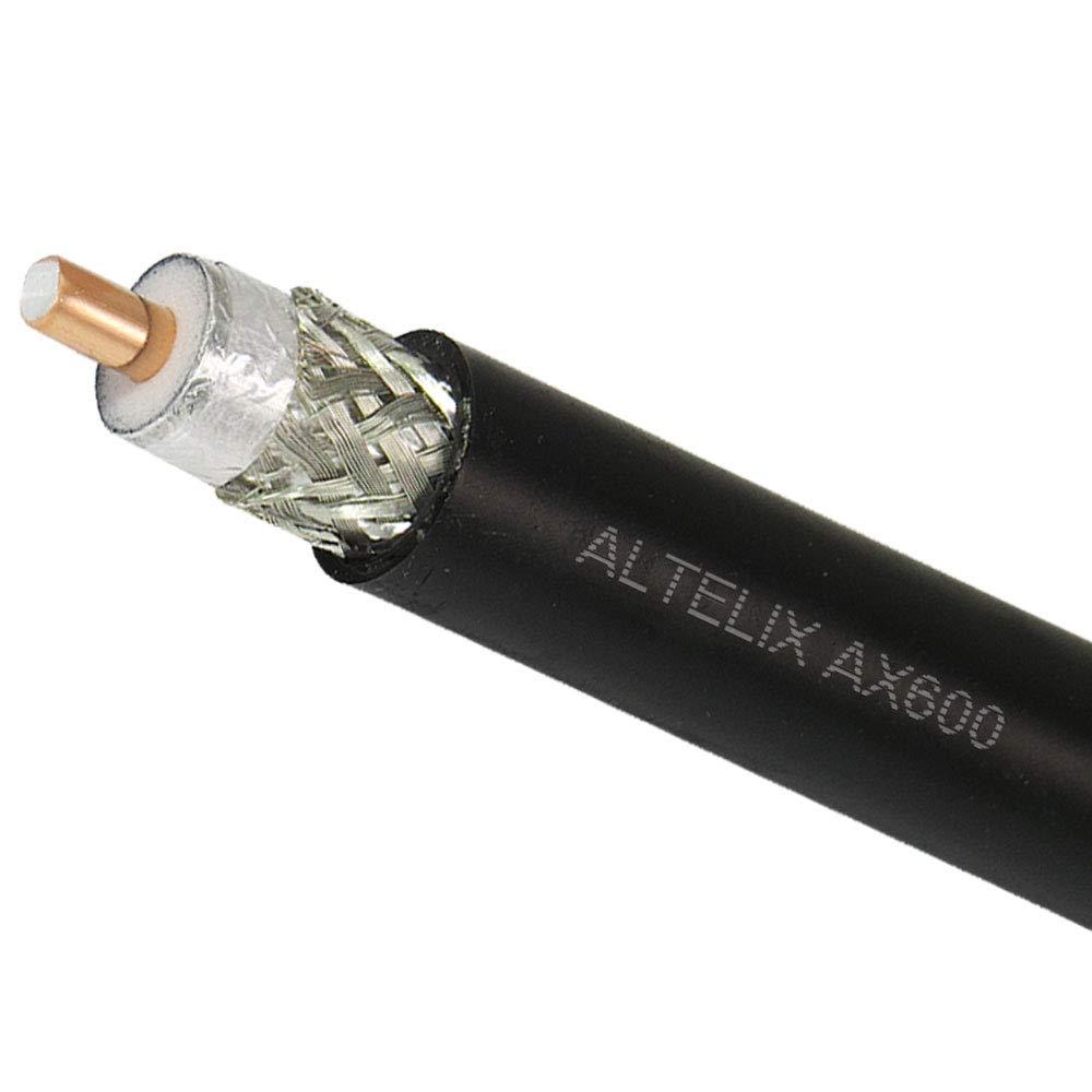 altelix AX600 600 de baja pérdida Cable Coaxial tipo 500 ...
