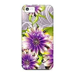 Iphone 5c Case, Premium Protective Case With Awesome Look - Heart Flow
