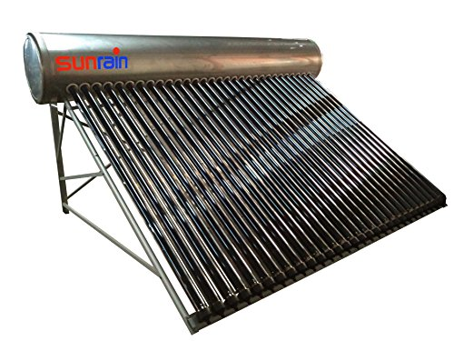 Northern Lights Group Stainless Steel Compact Solar Hot Water Heater- 80 Gallon solar hot water tank