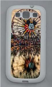 California Adventure Custom Design Samsung Galaxy S3 Case Cover - TPU Silicone - White