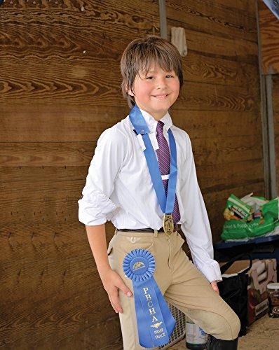 Circuit Riding Breeches - TuffRider BOY'S A-CIRCUIT JODS CHILD, SAFARI, 14 CH