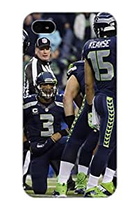 Judasslzzlc Case Cover For Iphone 4/4s - Retailer Packaging SEATTLE SEAHAWKS Nfl Football 12 Protective Case