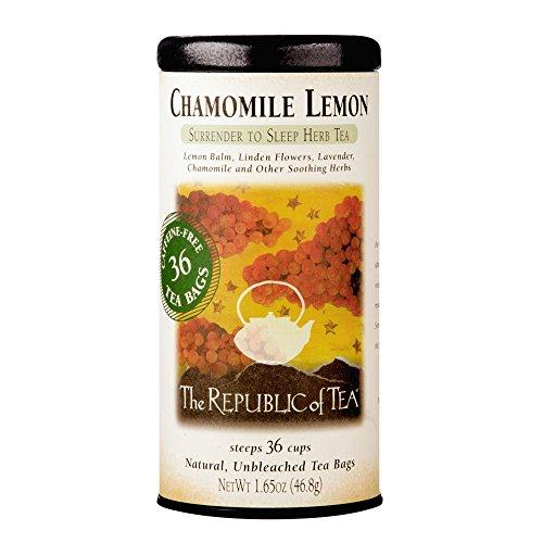 Linden Lemon Tea (The Republic of Tea, Chamomile Lemon Tea, 36-Count)